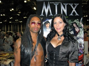 Minx and Ptolemy at NYCC 2010
